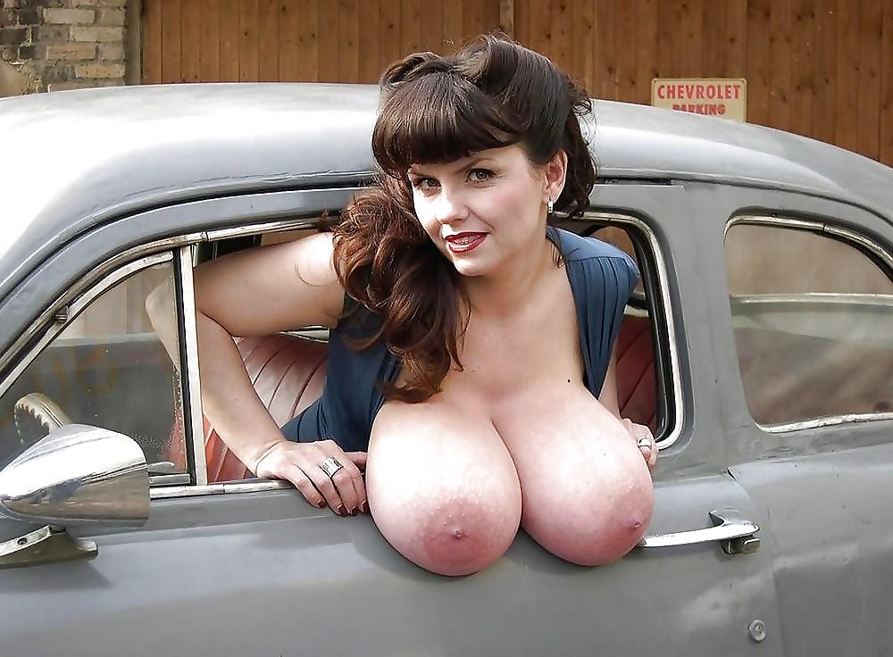 amazing boobs of milena velba