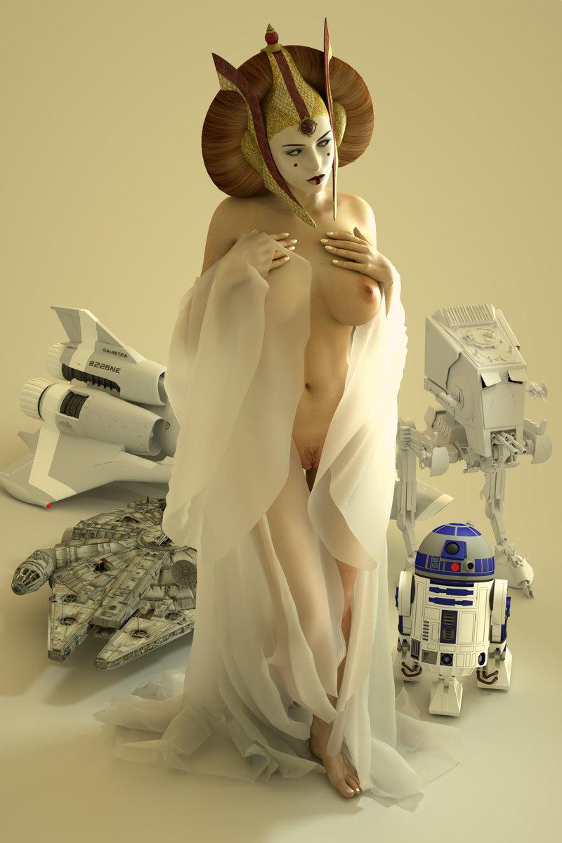 Star Wars Queen Dirty Gamer Girls