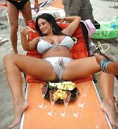 Marika Fruscio. Italian Football TV presenter.