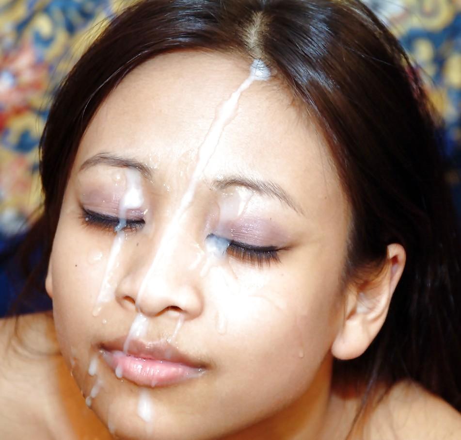 фото сперма на лице азиаток интимной жизнью молодой