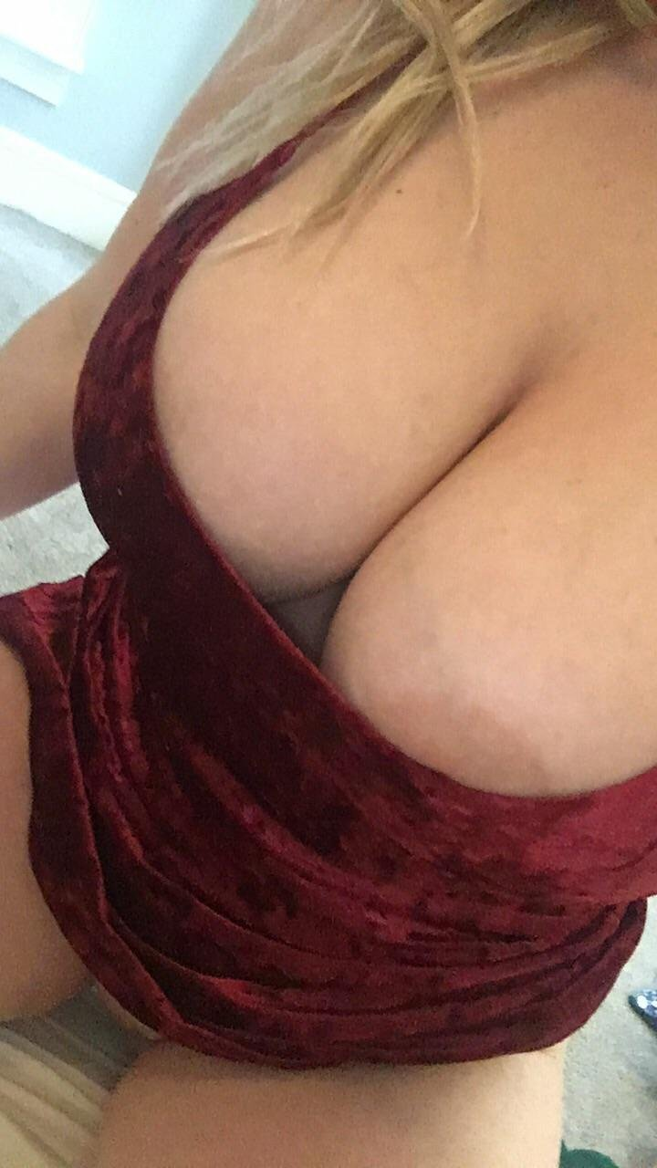 Wearing this out tonight, no panties and no bra.. Think I will get fucked?