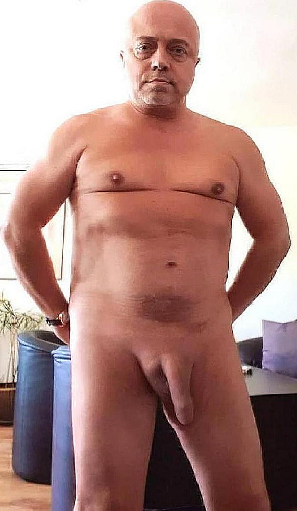 Hot daddy exposed naked