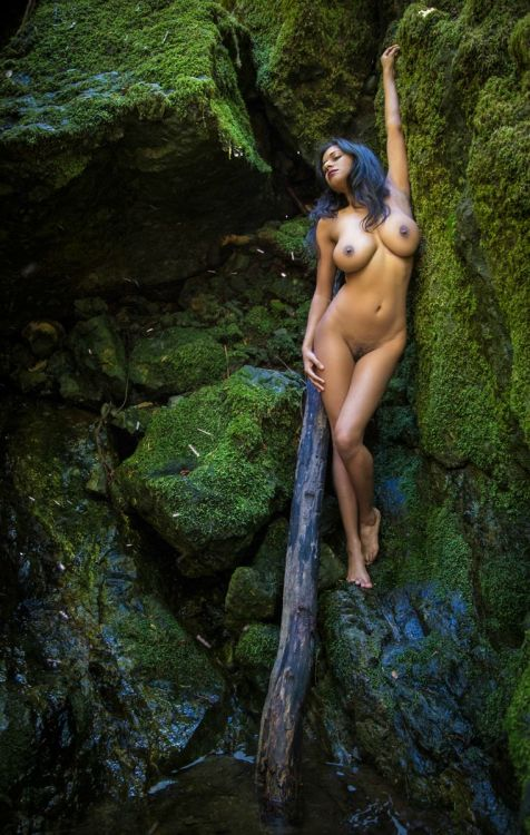 big natural brunette breasts from India