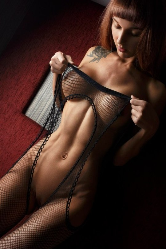 Tatted red hotness