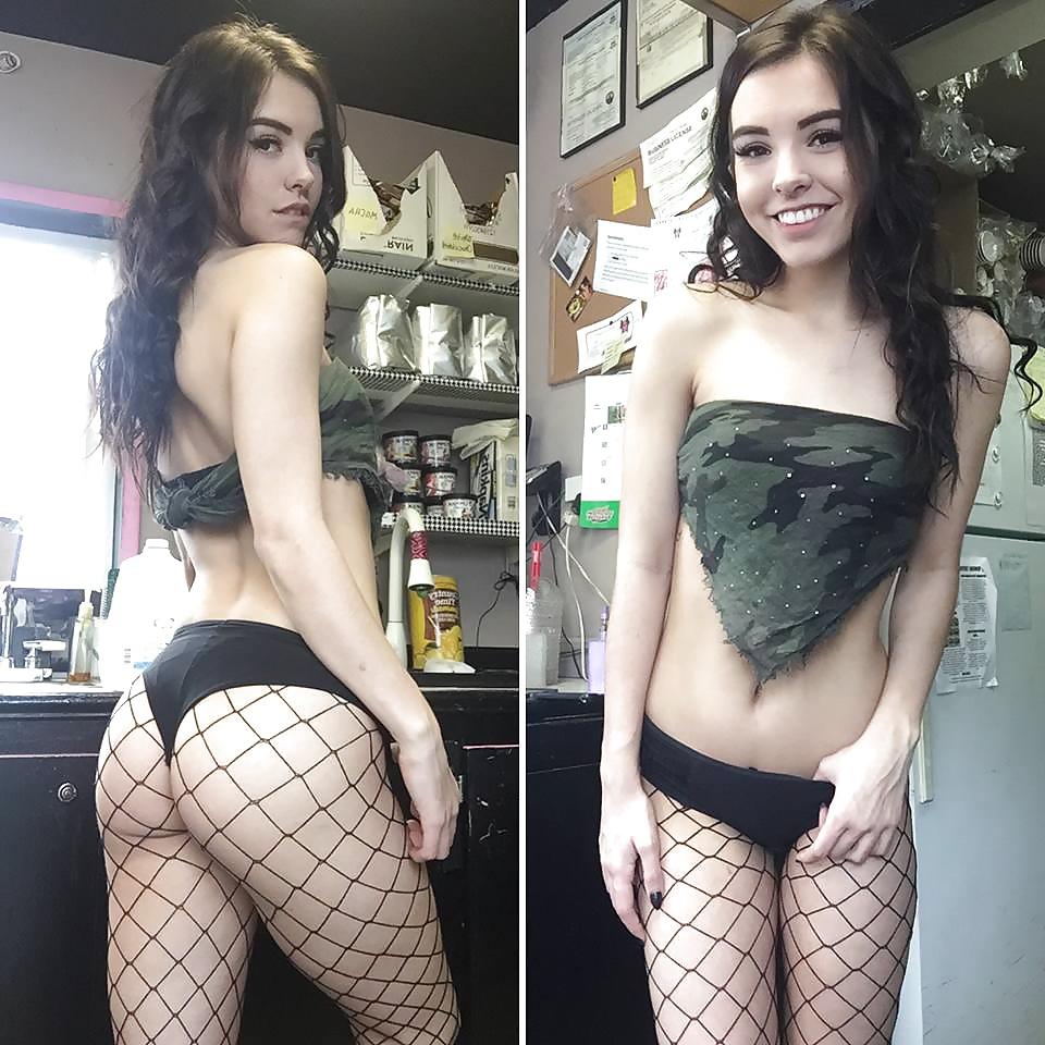 Eleni the cute barista