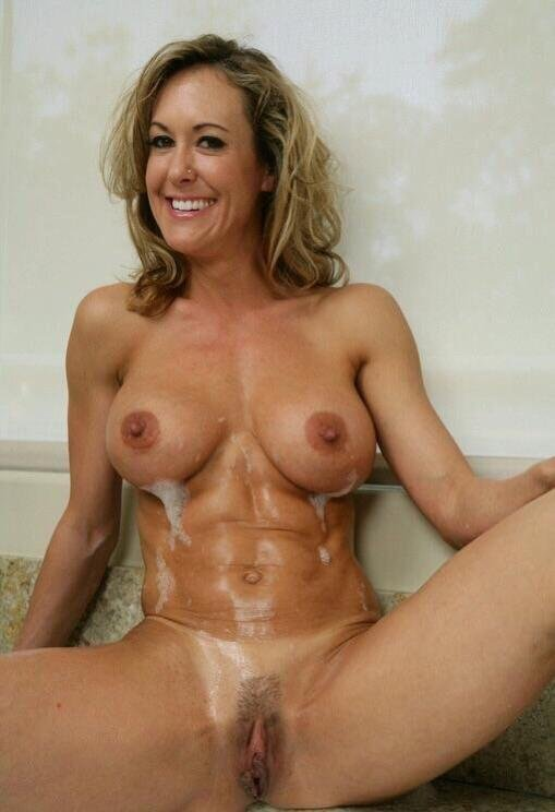 Hot soapy milf