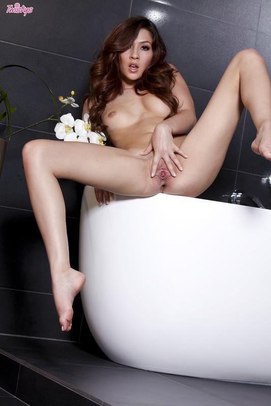 Redhead Cassie Lane Slipping Fingers Inside Wet Pussy