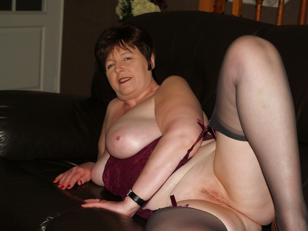 Mature Stockinged Wife