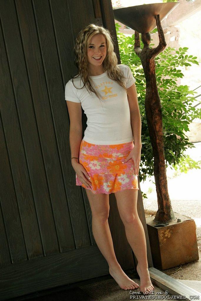 Webcam Blonde Teen Solo
