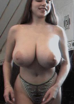 Yulia Nova's impressive bosom.