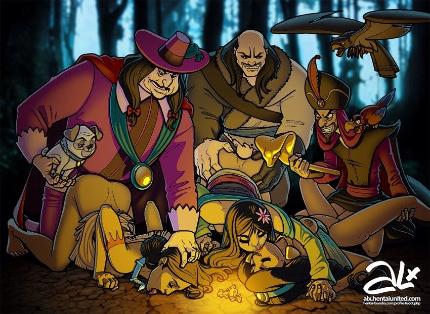 Villain's Night By the Campfire